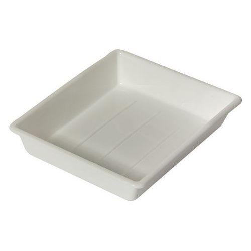Caja multiusos - plana - blanca Longitud total: 230 mm Anchura total: 180 mm