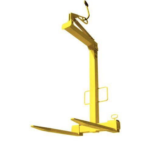 Horquilla regulable para la elevación de palés - Carga 2.000 kg - Autoequilibrado