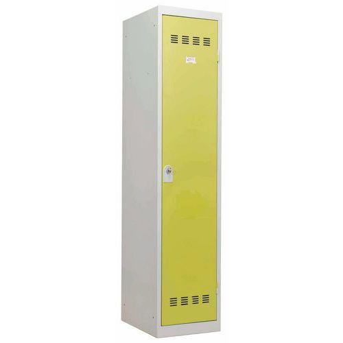 Taquilla de industria sucia - 1 columna - Ancho 400 mm