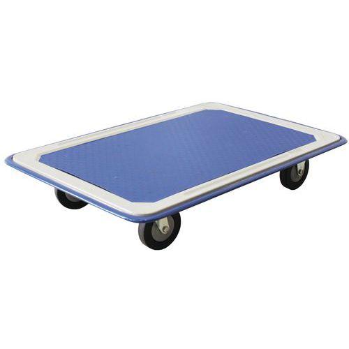 Plataforma rodante de acero - Capacidad 150 y 300 kg - Manutan