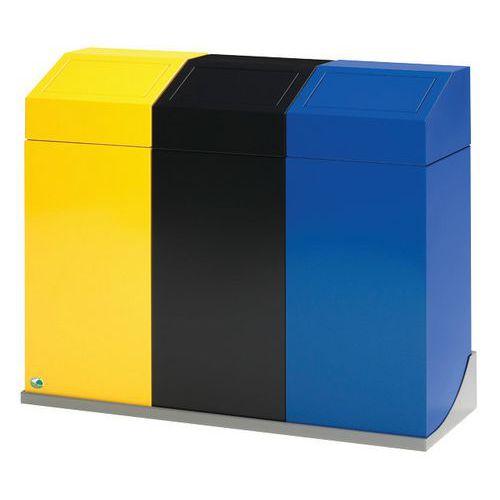 Soporte mural para contenedor recogida selectiva 45 L