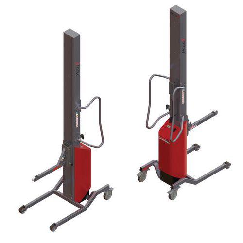 Apiladora Moovit con soporte con rodillo - Capacidad 150 kg
