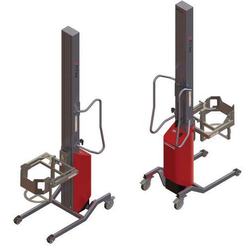 Apiladora Moovit con volteador de bidón - Capacidad 80 kg