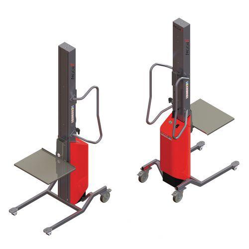 Apiladora Moovit con plataforma inox - Capacidad 80 kg