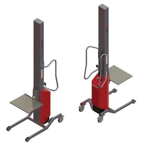 Apiladora Moovit con plataforma inox - Capacidad 150 kg