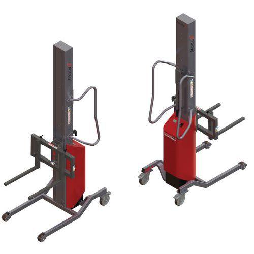 Apiladora Moovit con horquillas móviles - Capacidad 200 kg
