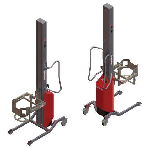 Apiladora Moovit con volteador de bidón - Capacidad 150 kg