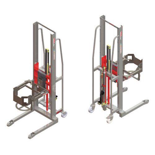 Apiladora GR manual con volteador de bidones - Capacidad 300 kg