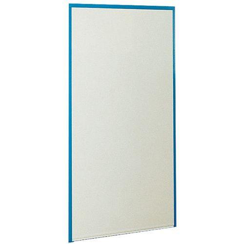 Cerramiento de tabique simple de melamina - Panel macizo - Altura 1,70 m