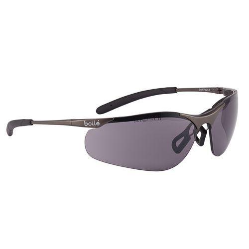 Gafas de protección con contorno de metal