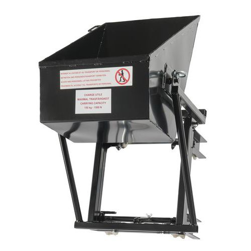 Volquete pendular para montacargas Castor Steel