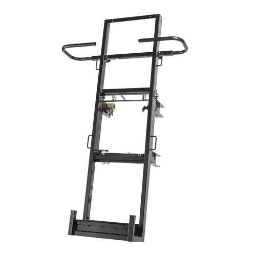 Estructura de placas vertical para montacargas Castor Steel