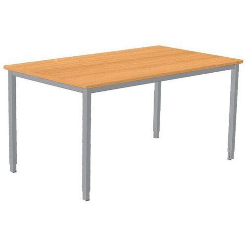 Mesa de oficina combi classic patas ajustables for Patas mesa oficina