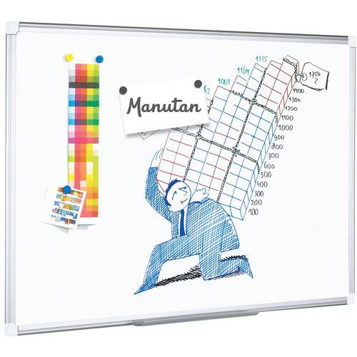 Pizarra blanca - Manutan