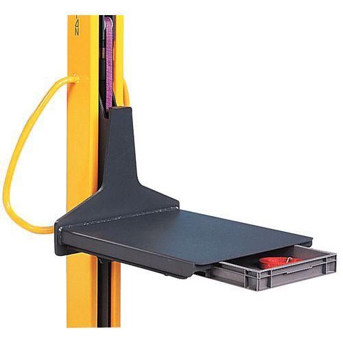 Plataforma con cajón deslizante - Para apiladores Kléos y Stacky