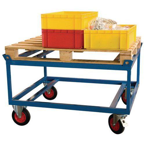 Base rodante alta para cargas pesadas - Capacidad 500 y 1000kg