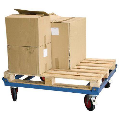 Base rodante baja para cargas pesadas - Capacidad 500 y 1000 kg
