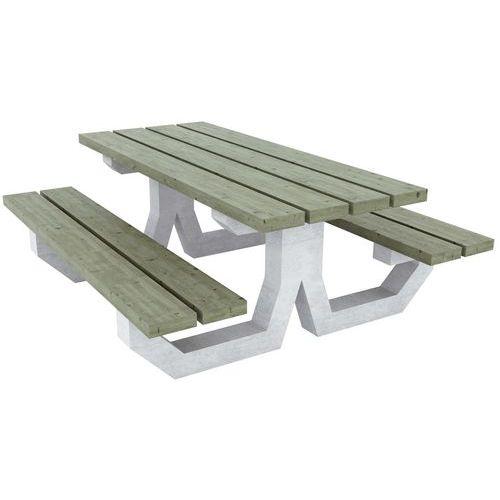 Mesa de picnic - Oléron