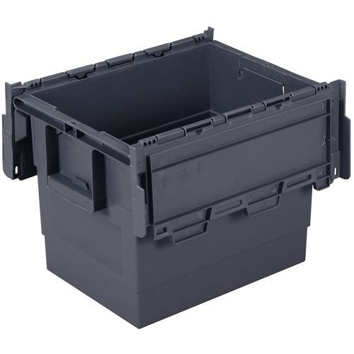 Caja de transporte Integra®  - Longitud 600 mm - Gris