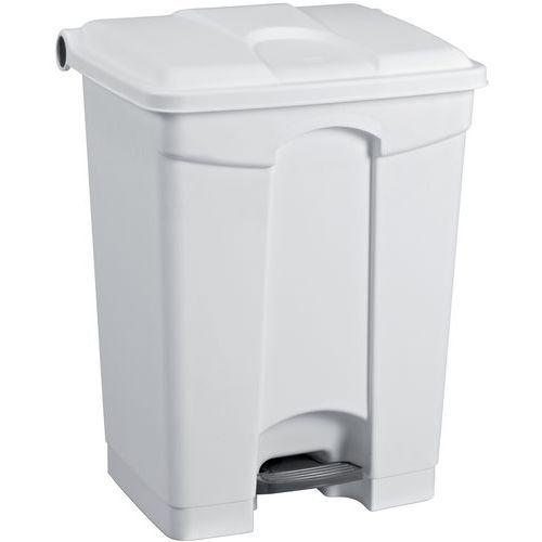 Cubo de basura agroalimentario con ruedas - 45 L - Manutan