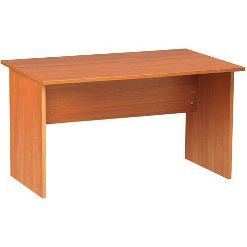 Mesa de oficina rectangular Solo - Patas panel - Manutan.es
