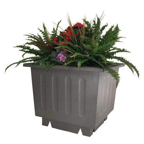 Jardinera metálica - Cuadrada