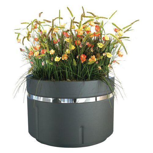 Jardinera metálica - Redonda