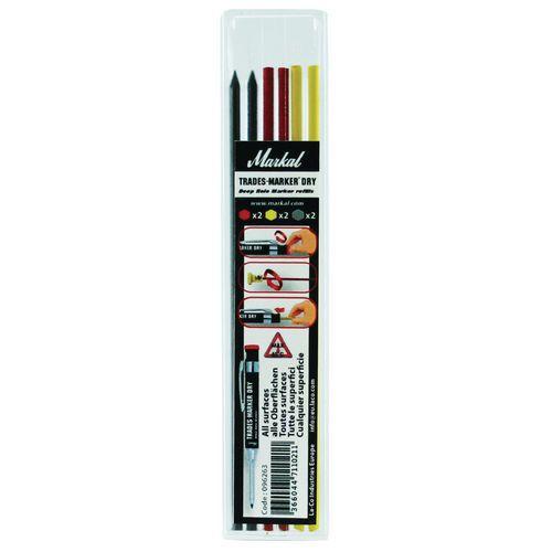 Recambios para marcador con punta telescópica - Trades-Marker® Dry