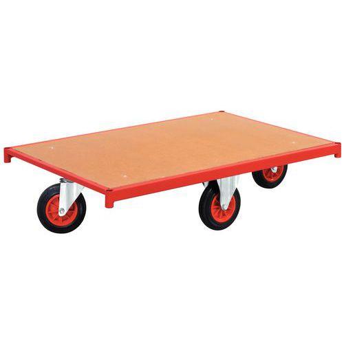 Plataforma rodante – Ruedas en rombos – Capacidad: 500 kg