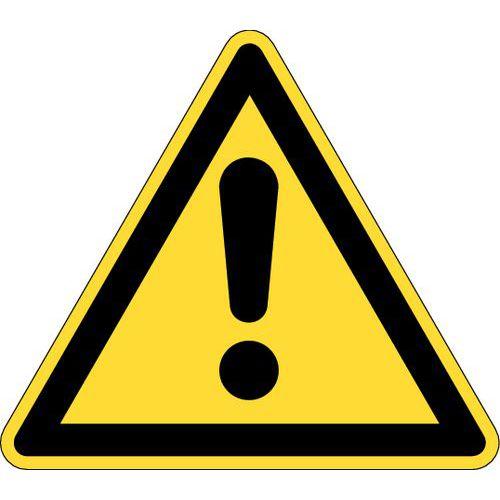 Señal de advertencia - Riesgo en general - Rígida