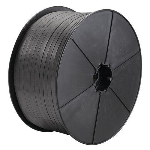 Fleje de polipropileno manual - Mandril de 70 mm de diámetro - Lote de 2 bobinas