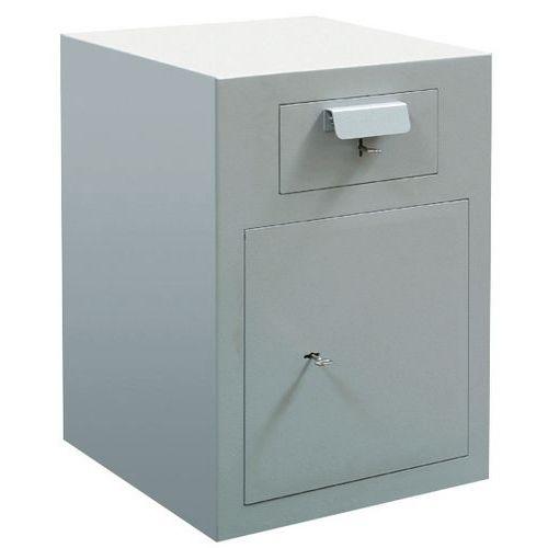 Caja de depósitos PTD/ETD - Cerradura con llave