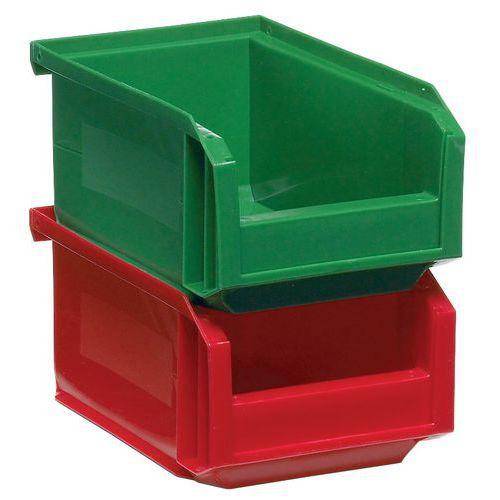 Caja con abertura frontal European - Longitud 160 mm - 1 L