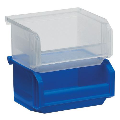 Caja con abertura frontal European - Longitud 103 mm - 0.3 L