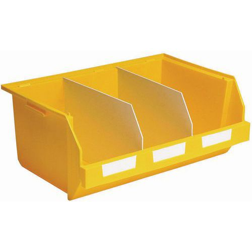 Separador longitudinal para cajas pick in ensamblables