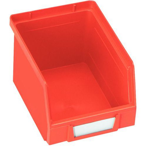 Caja con abertura frontal Kangourou - Longitud 240 mm - 3.5 L - Manutan