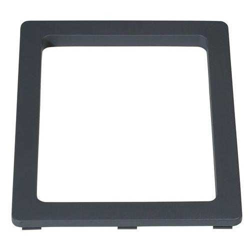 Inserto rectangular compatible con marco para cubo de basura de 60 y 80L