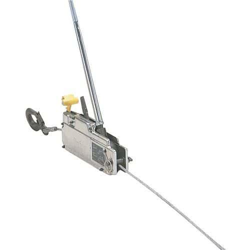 Cabrestante y cabrestante elevador Tirfor de trayectoria ilimitada - Carga 800 y 3200 kg