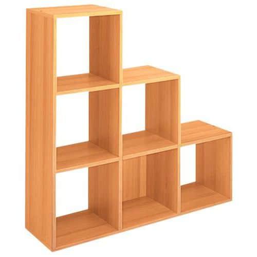 Mueble organizador maxicube aliso for Mueble organizador