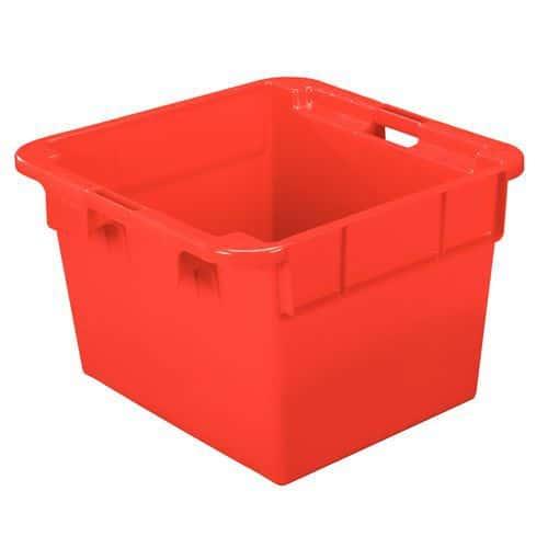 Caja apilable gran formato - Monocolor - Longitud 620 a 800 mm - 90 a 145 l