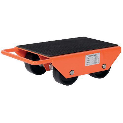 Base rodante con rodillos fijos - Capacidad de 1000 a 6000 kg