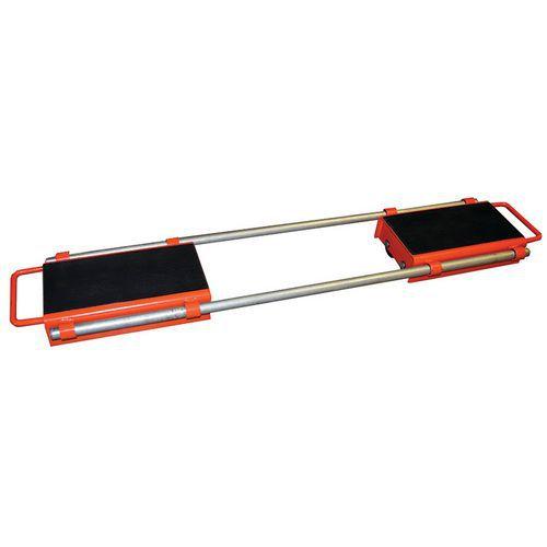 Rueda fija ajustable - Capacidad 6000 y 12 000 kg