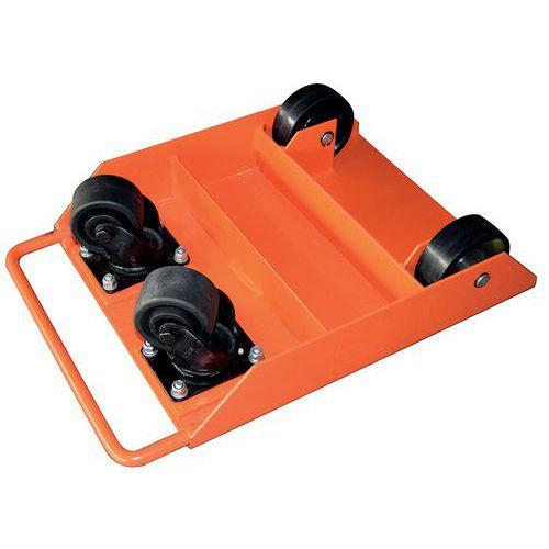 Base rodante con rodillos pivotantes - Capacidad 1000 kg