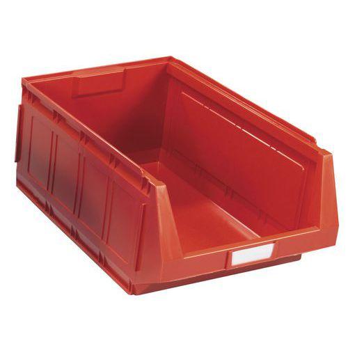 Caja con abertura frontal ensamblable - Longitud 580 mm - 40 L