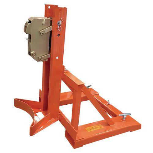 Pinza para bidón vertical - Capacidad 360 kg