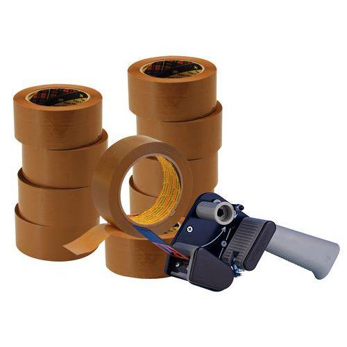 Oferta especial 3M: 10 rollos adhesivos Hot Melt 3739 + 1 dispensador silencioso H150