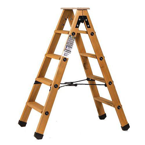 Escabel profesional de madera Lyonnais 2 plataformas - Centaure