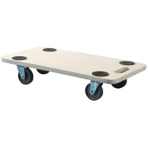 Plataforma rodante de madera - Capacidad 200 kg - Mottez
