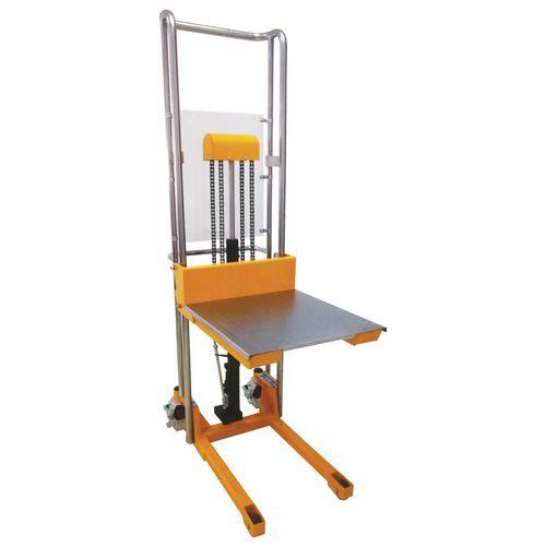 Apiladora manual - Capacidad 400 kg