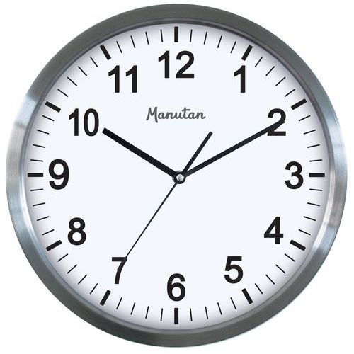 4a6cc08544d5 Reloj de pared de cuarzo Manutan - Manutan España